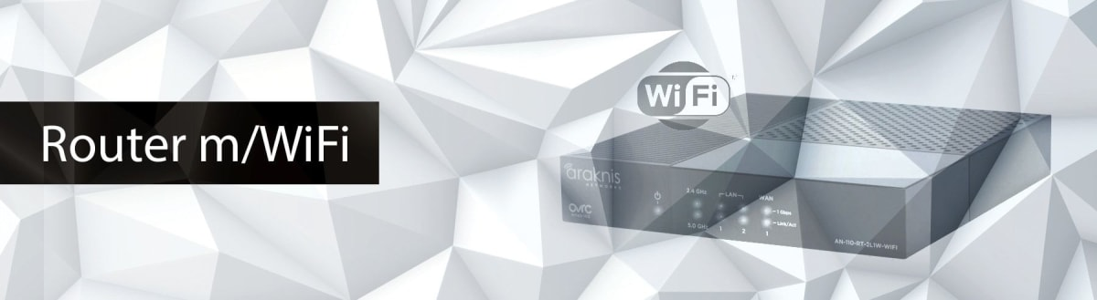 Router m/WiFi