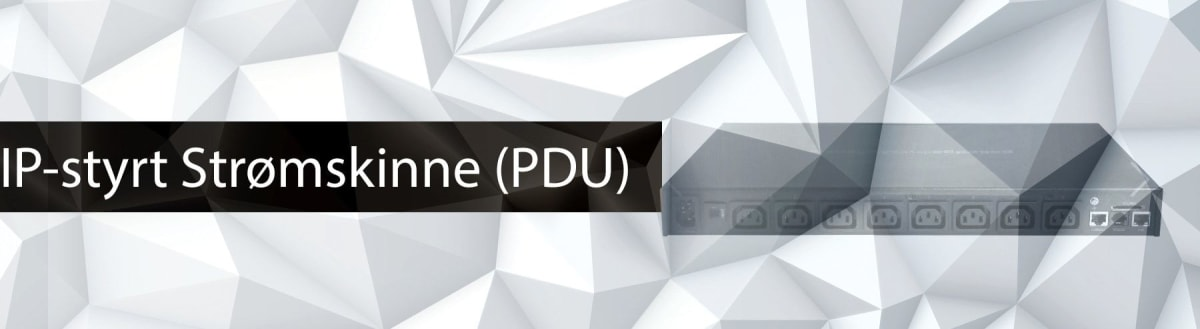 IP-styrt Strømskinne (PDU)