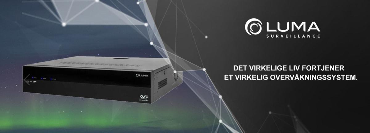 Luma NVR opptak / lagring