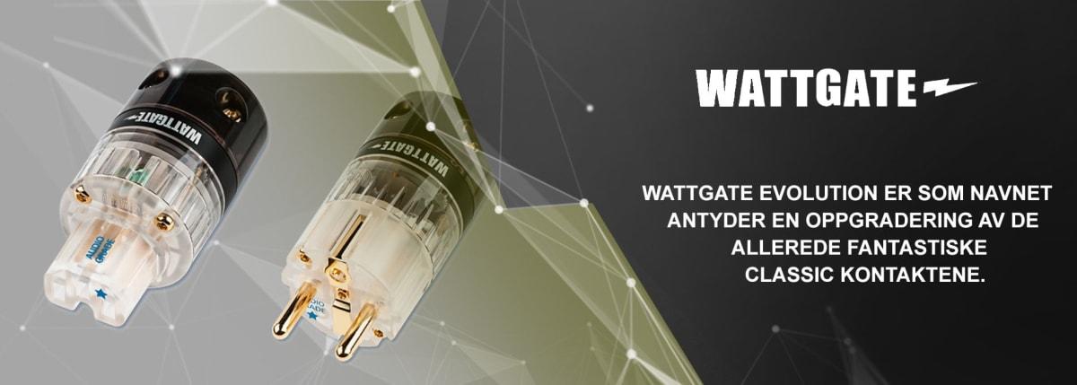Wattgate – EVOLUTION AUDIO GRADE