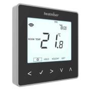Heatmiser neoStat-e v.2, sort thermostat for elektrisk gulvvarme