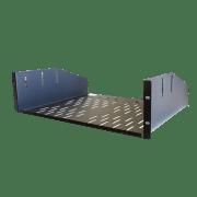 Forge R-SHELF-3UC, Shelf, Vented - 3U, compatible w/R-CLAMP