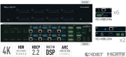 Key Digital KD-Pro8x8D, 8x8 HDBaseT/HDMI matrix switcher