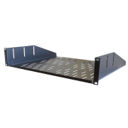 Forge R-SHELF-2UC, Shelf, Vented - 2U, compatible w/R-CLAMP