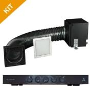 Triad Speakers Mini FlexSub Vent Style Grill with RackAmp 300