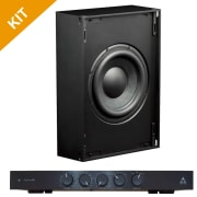 Triad Speakers 2 x InWall Bronze/6 Sub with RackAmp 300