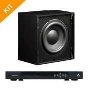 Triad Speakers 2 x InCeiling Bronze/10 Sub with RackAmp 700 DSP