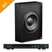 Triad Speakers 2 x InWall Bronze/6 Sub with RackAmp 700 DSP