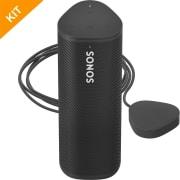 Sonos ROAM bundle med trådløs lader i sort