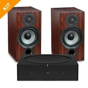 Sonos AMP + Elac DEBUT 2.0 B6.2 i walnut