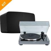 Vinyl pakke # 2 - Elac Miracord 50 & Sonos FIVE i sort