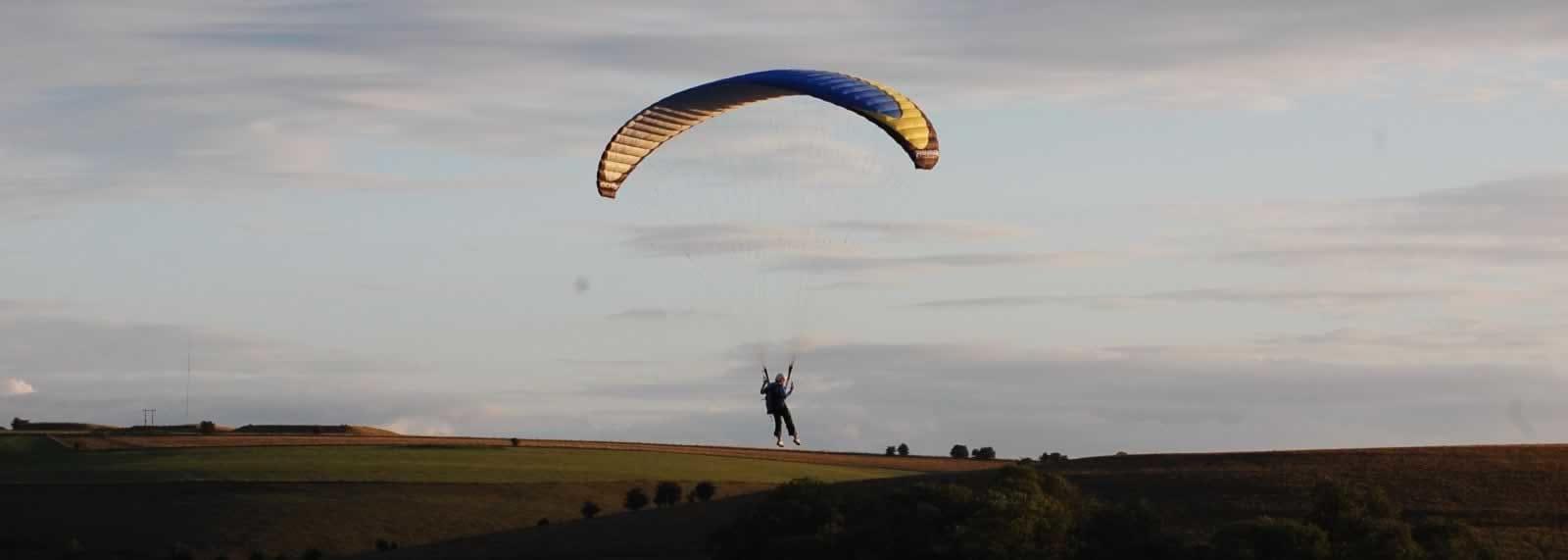 Paramotoring in Wiltshire - SkySchool