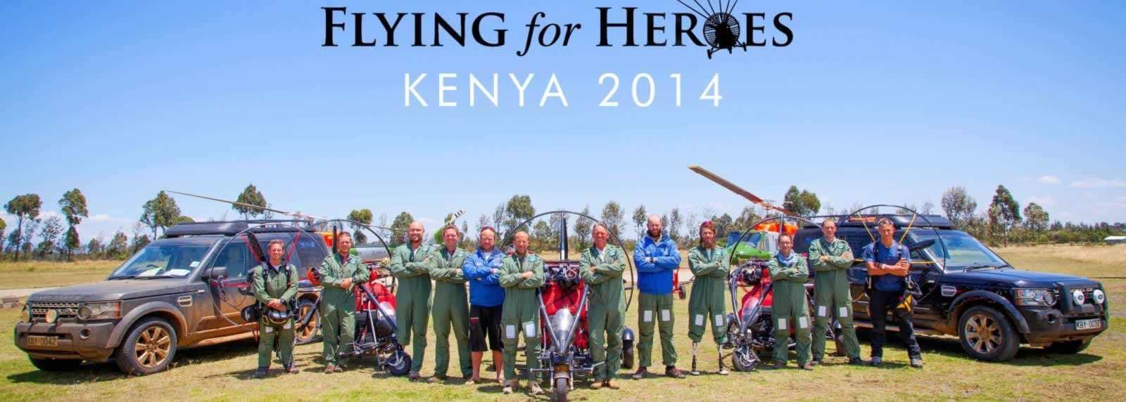 Flying for Heroes
