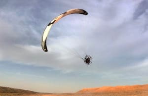 Paramotoring in Oman