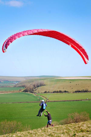 Paragliding in Wiltshire with SkySchool UK