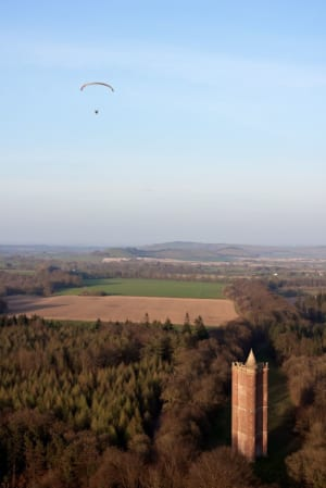Paramotoring in Wiltshire with SkySchool UK