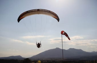 Paramotoring courses in Spain