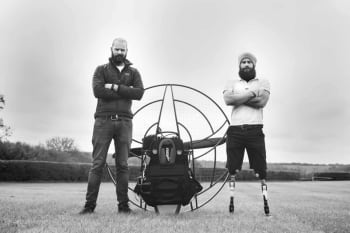 Cayle and Seth Royce ParaTrike Adventurers