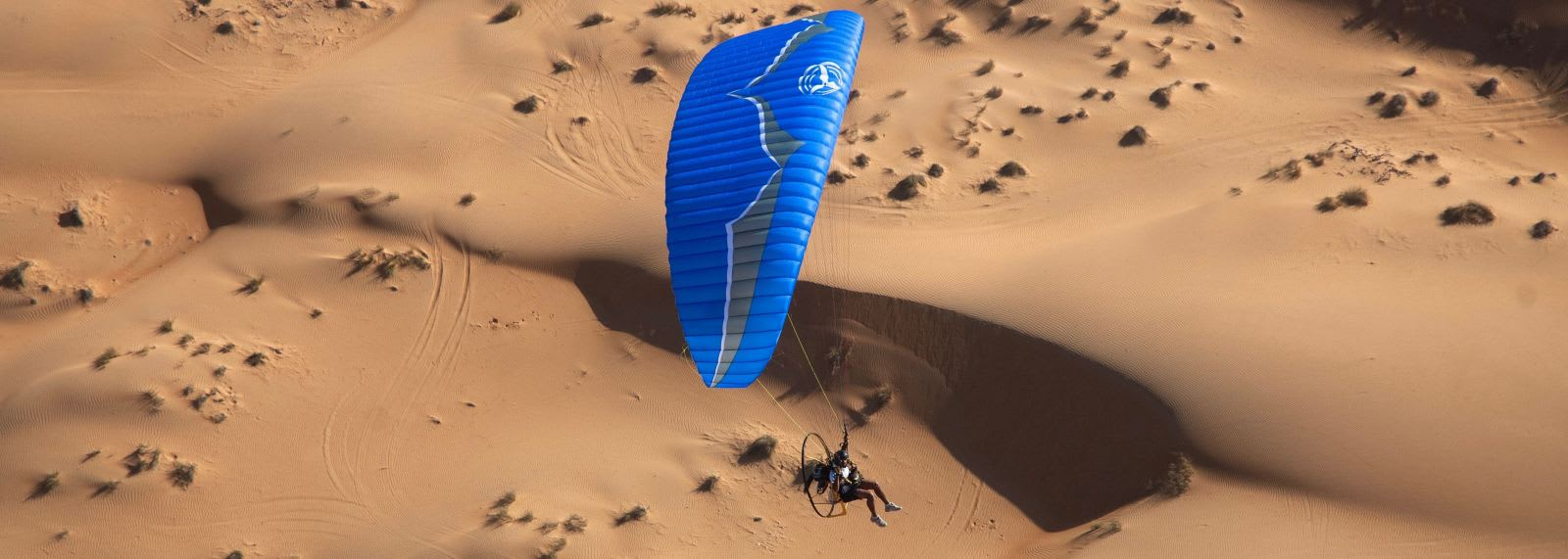 Paramotoring in the UAE