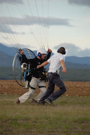 Intermediate Paramotoring Courses in Spain with SkySchool