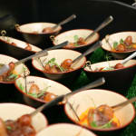 Bangers and Mash Bowls from Top Hat Catering
