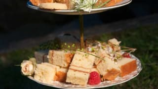 Corporate Afternoon Tea Sandwiches from TopHat