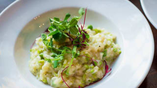 TopHat's Pea, Mint and Feta Risotto
