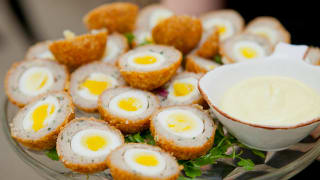 TopHat's Mini Breakfast Scotch Eggs