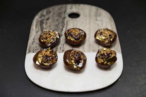Ferrero Rocher Chicken Liver Canapés from TopHat