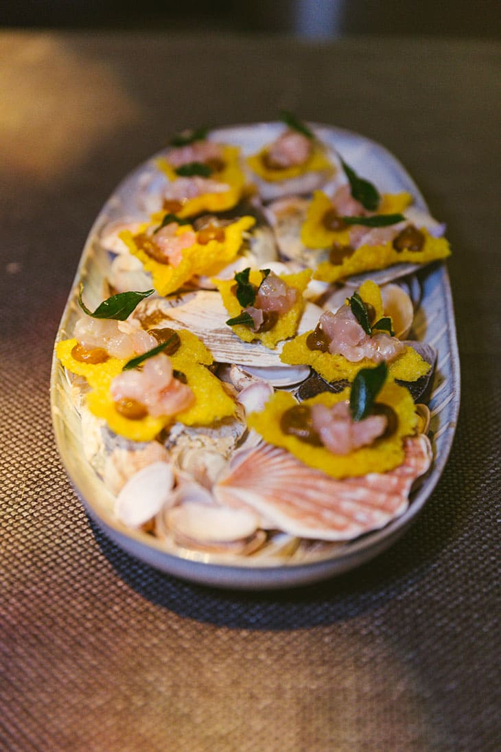 Tartare for Red Mullet