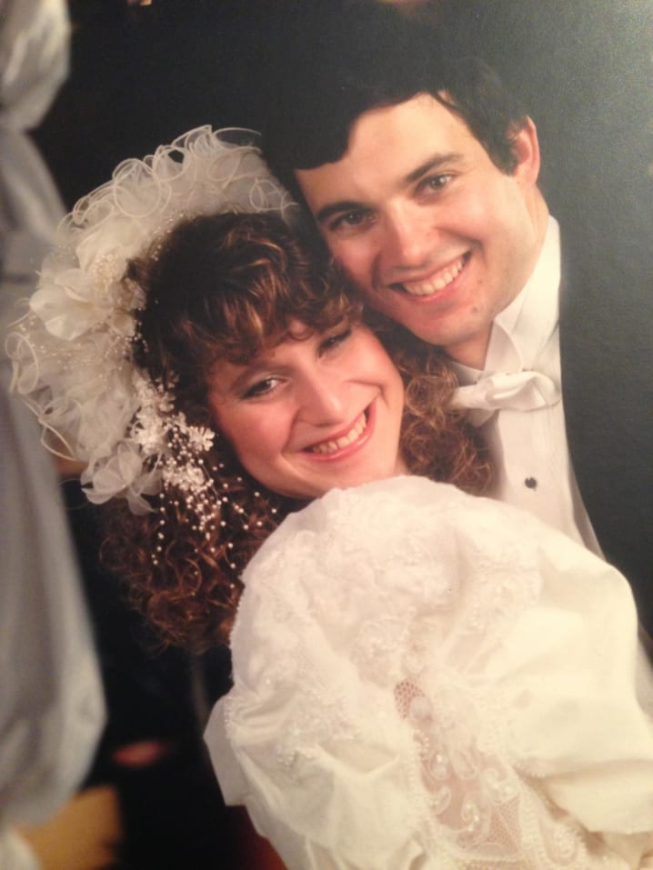Shawn Karp & Tsipora Schechter,  LI Region, November 28th, 1990
