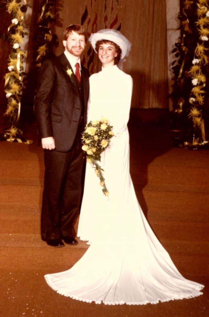 Rabbi Howard Zack & Linda Vlosky, Har Sinai Region, November 13th, 1983