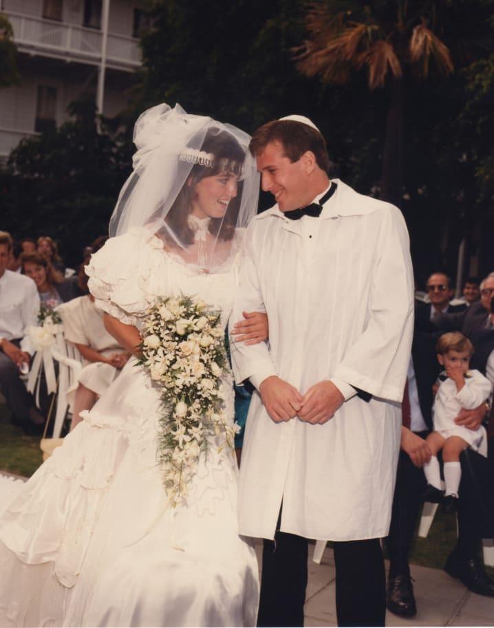 Michael Sass & Symone Hinsvark, West Coast Region, June 12th, 1988