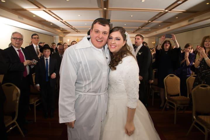 Chavi (Mayer) & Ari Zeitz, January 11th, 2015, New York NCSY