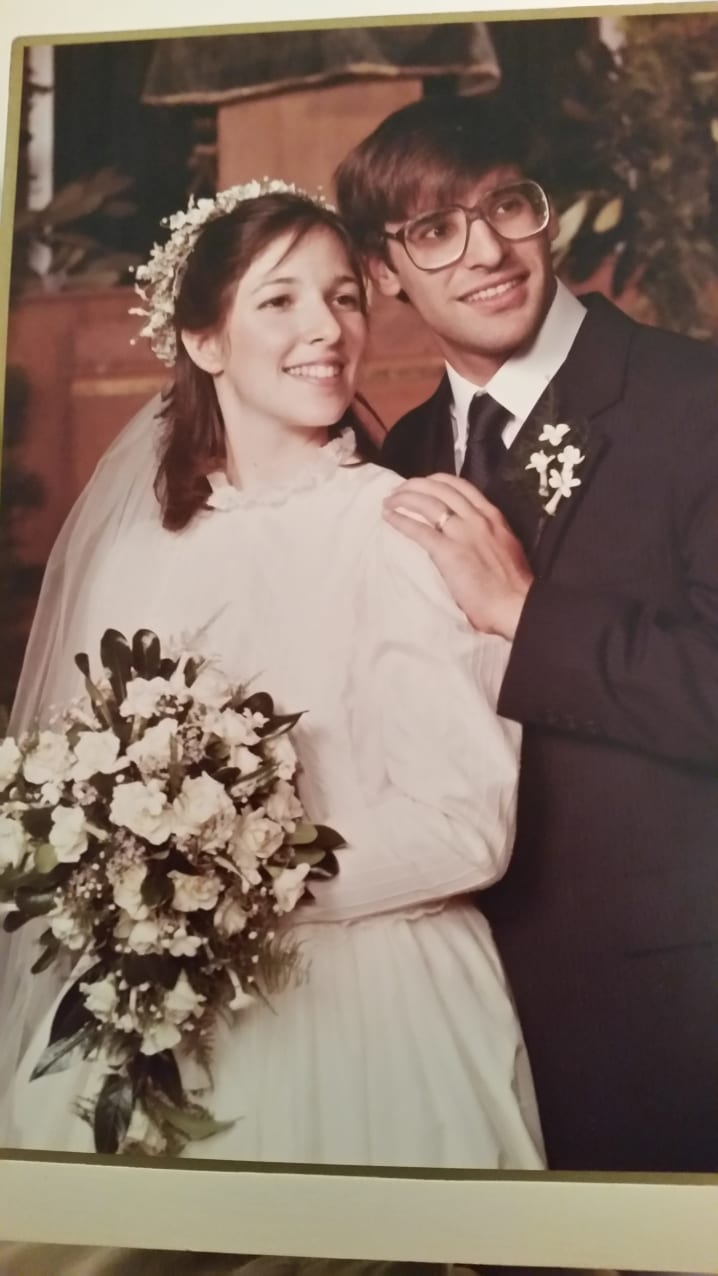 Sheryl Lappin and Michael Susman, New Jersey NCSY, August 14th 1983