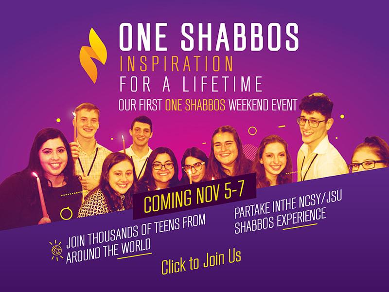 One Shabbos