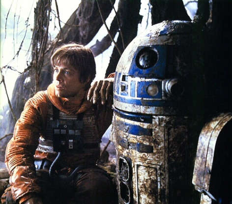 11. What is the problem with the first R2 unit Uncle Owen buys?