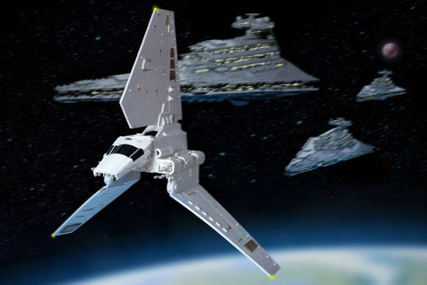 16. What is the name of the ship that Star Destroyer called Devastator intercepts in order to capture Princess Leia?
