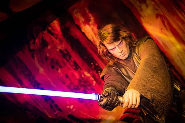 23. According to Luke, what did Uncle Owen say Anakin
