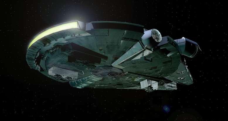 26. Where do Obi-Wan Kenobi and Luke Skywalker meet Han Solo for the first time?