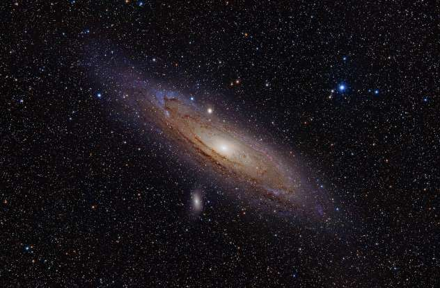 32. The nearest spiral galaxy to the Milky Way Galaxy is which of the following?