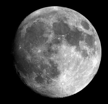 34. How often do we see the back side of the moon?