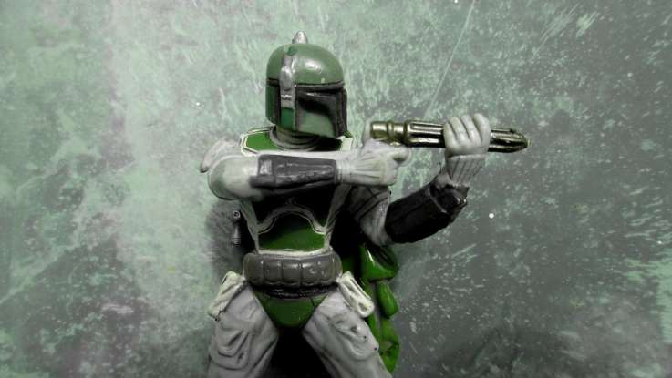 10. Who causes Boba Fett to fall into the sarlacc pit?