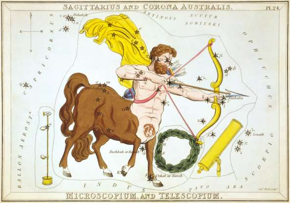 17. Which of the following is not true about Sagittarius?
