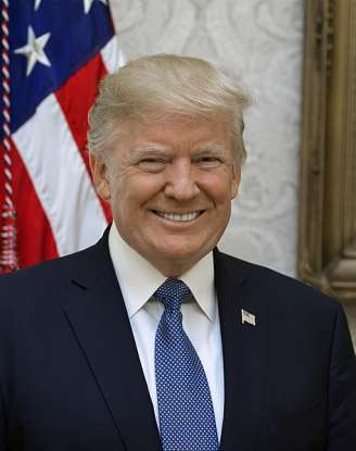 45. Who is the 45th president of the United States?