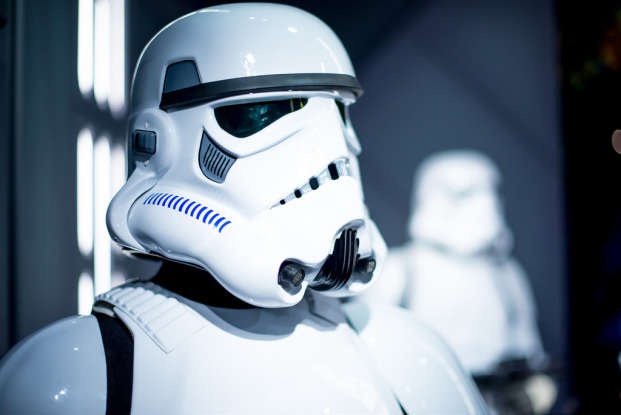1. What nickname does Poe Dameron give to the stormtrooper FN-2187?
