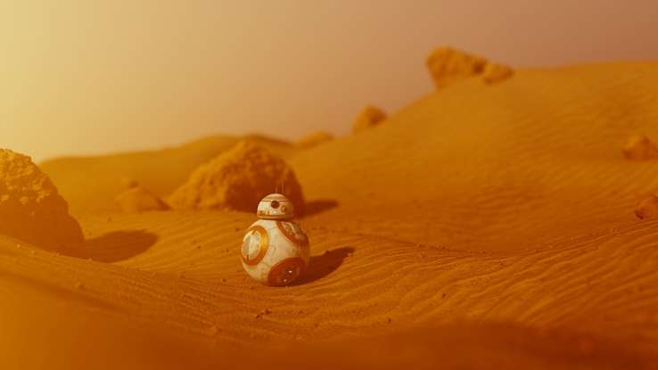 2. BB-8 is a lovable little droid. Who is his owner?