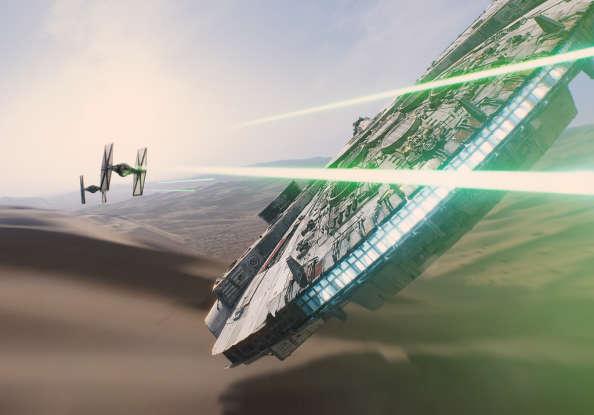 4. Who attacks Finn and Rey on Jakku?