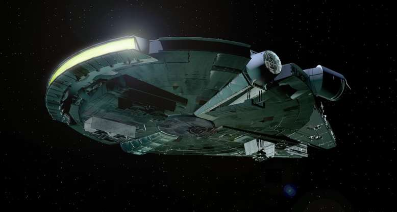 5. Han Solo claims that the <em>Millennium Falcon</em> made which run in 12 parsecs?
