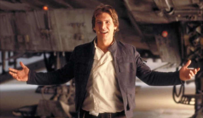 8. Why do two gangs confront Han Solo in this film?